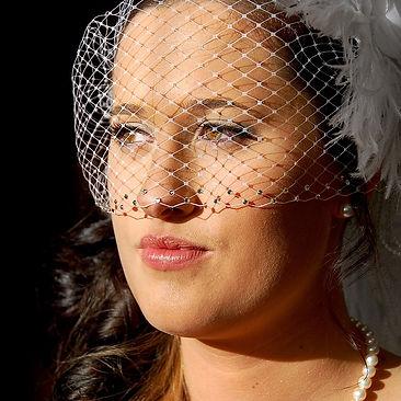 Beautiful Bride's Wedding Portrait