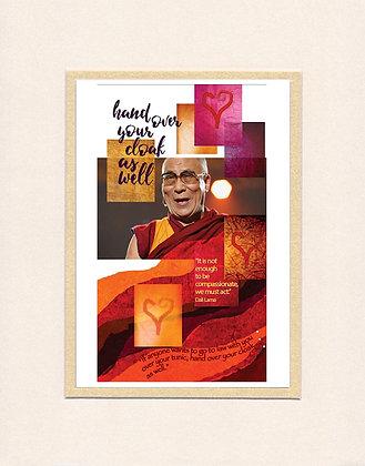 Dali Lama - matted print