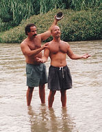 Rob & Barry in river.jpg