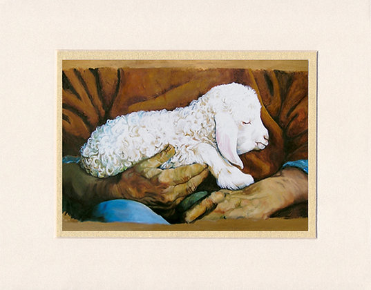 In His Hands - matted print