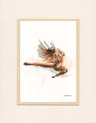 Leap - matted print