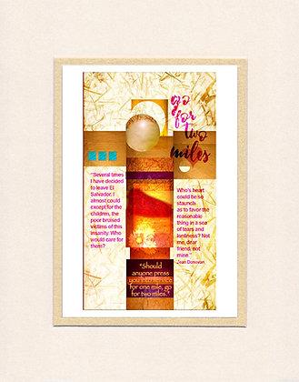 Jean Donovan - matted print