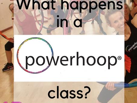 What happens in a Powerhoop Class?