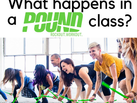 What happens in a POUND Class?