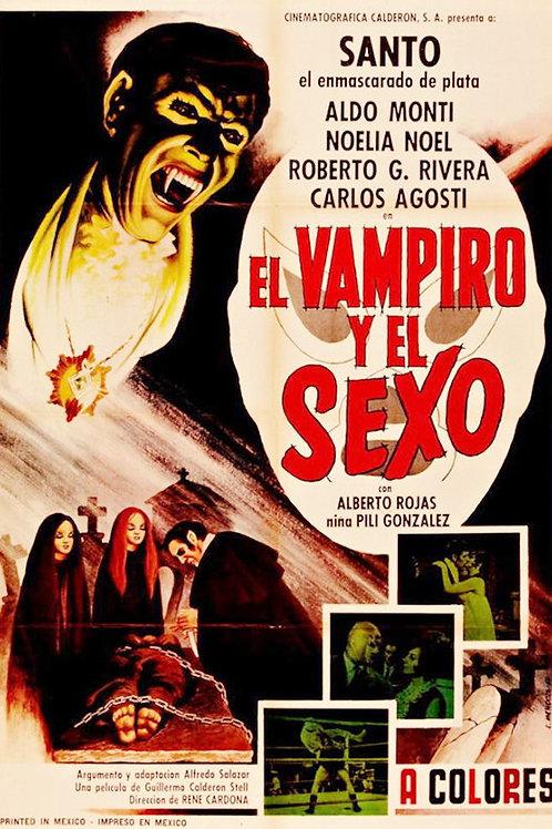 Santo:The Vampire and The Sex ( El Vampiro y El Sexo) 1968