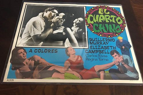"""El Cuarto Chino"" (The Chinese Room) 1966 Lobby Card"