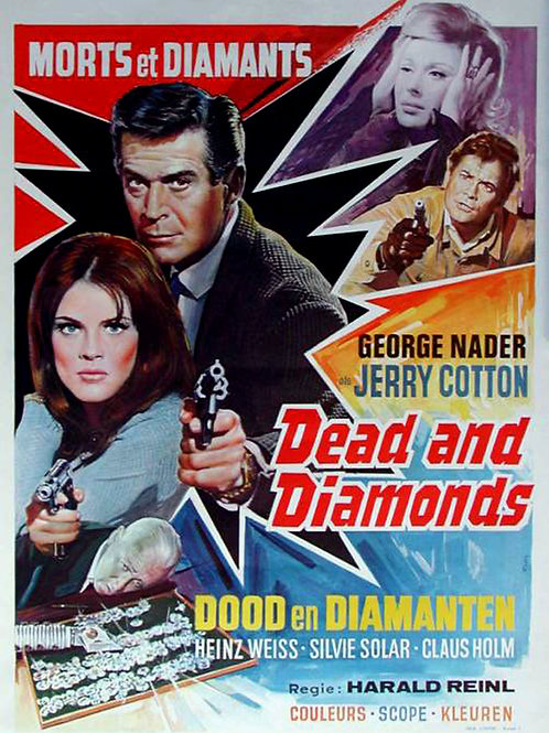 """Death and Diamonds"" G-Man Jerry Cotton (1968)"