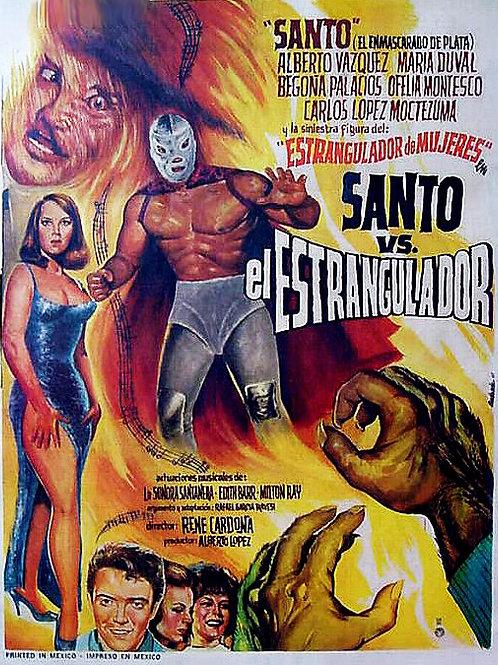 Santo Vs. The Strangler (El Estrangulador) 1963
