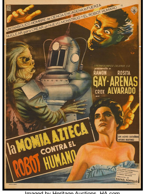 The Robot Vs The Aztec Mummy 1959