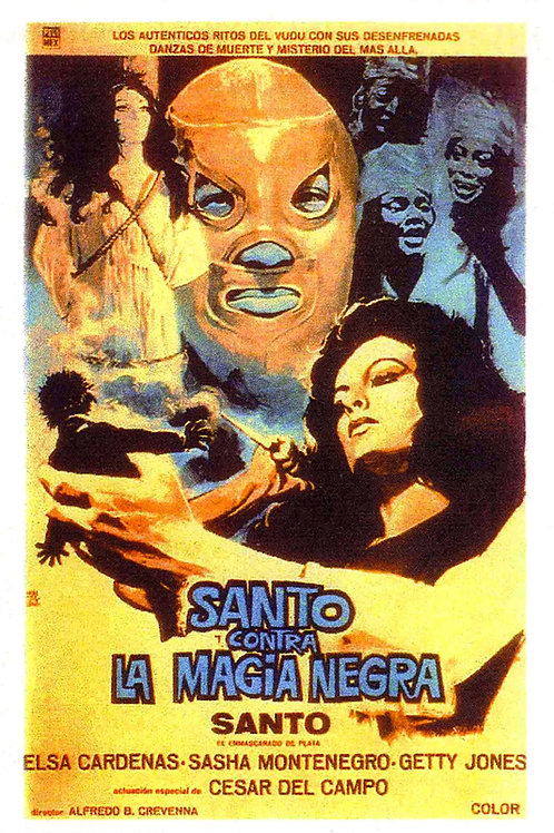Santo Vs. The Black Magic (1972)