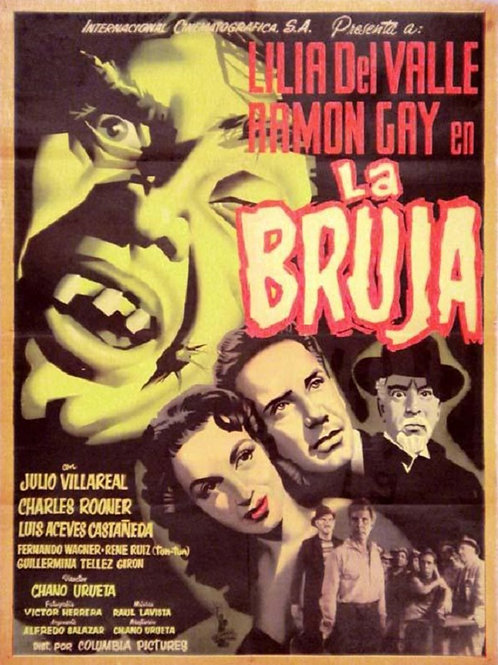 La Bruja (The Witch) 1954 Ramon Gay