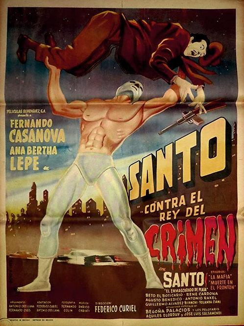 Santo Vs. The King of Crime (Contra El Rey Del Crimen)