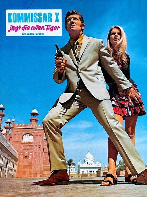 "Kommissar ""X' Operation Pakistan (Tiger Gang) 1971 Eurospy"