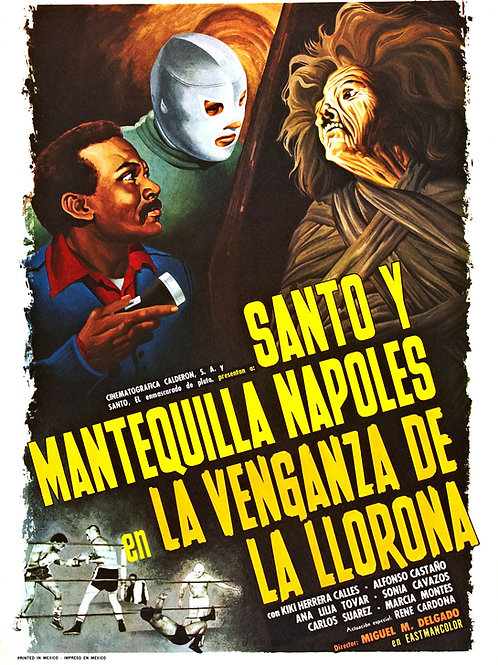 Santo In The Vengeance Of The Crying Woman (1974) Lucha-Horror