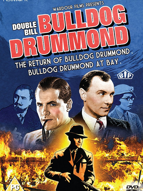 Double Bill Bulldog Drummond 1934-1937 British Crime Thrillers