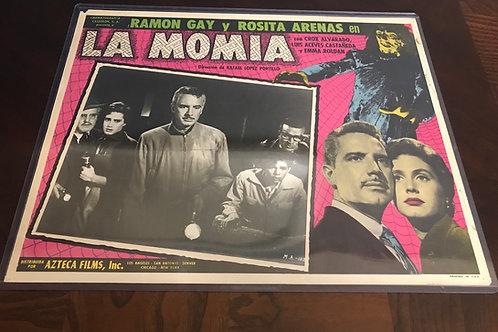 La Momia Azteca ( Attack of The Mayan Mummy) 1957 Lobby Card