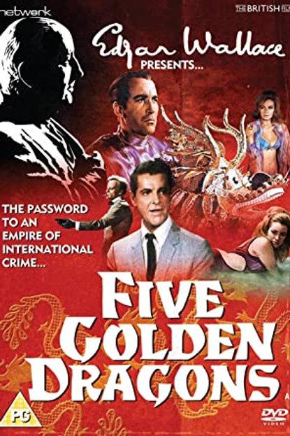 Five Golden Dragons 1967 British Spy Thriller
