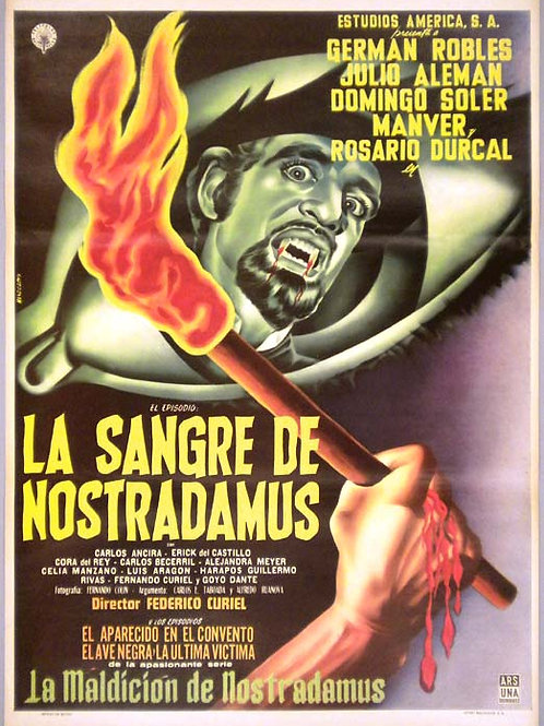 """The Blood of Nostradamus"" (1962) German Robles"