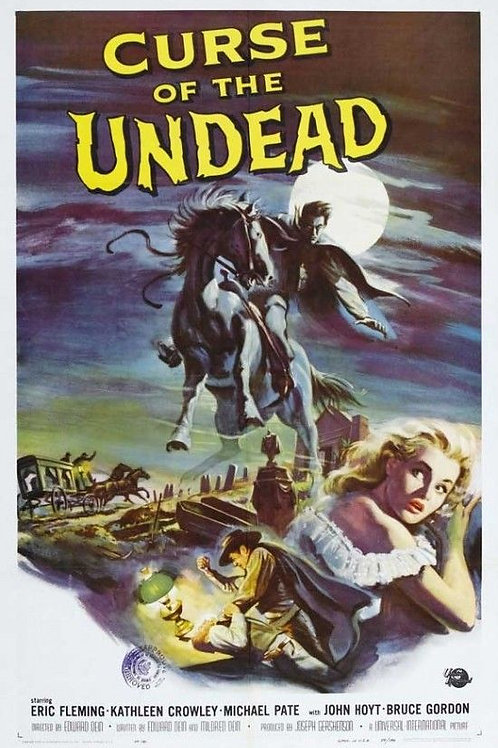 Curse of The Undead (1959) Western Horror