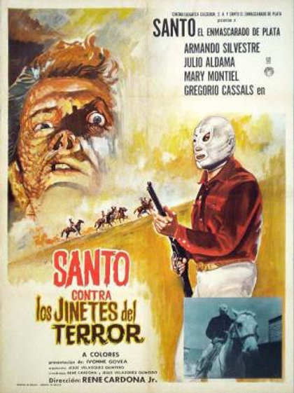 Santo Vs. The Riders Of Terror (1970) Mexican Western Horror