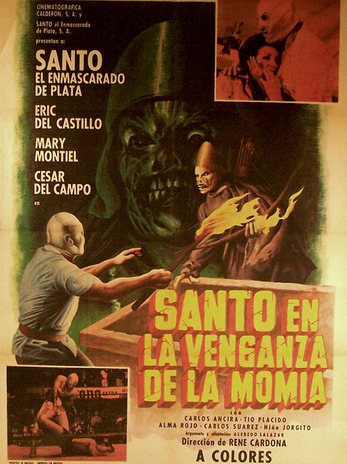 """Santo In The Vengeance Of The Mummy"" (1970)"