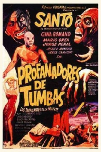 Santo En Profanadores De Tumba (Grave Robbers) 1965