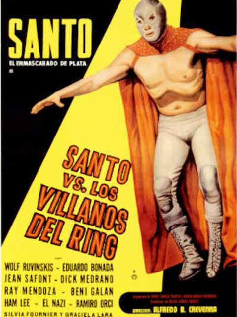 Santo Vs. The Villians of The Ring (Los Villanos Del Ring) 1968