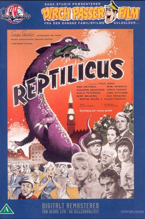 Reptilicus (1961) Danish Sci Fi
