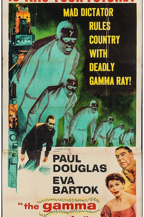 The Gamma People (1956) Sci Fi Eva Bartok