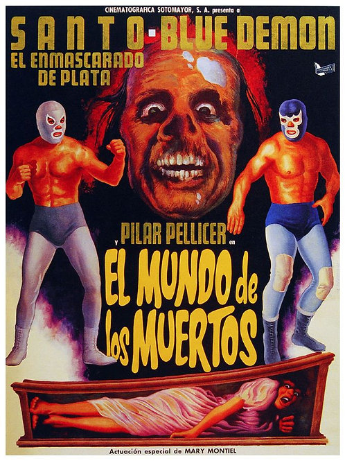 The World of The Dead (1969) Santo & Blue Demon