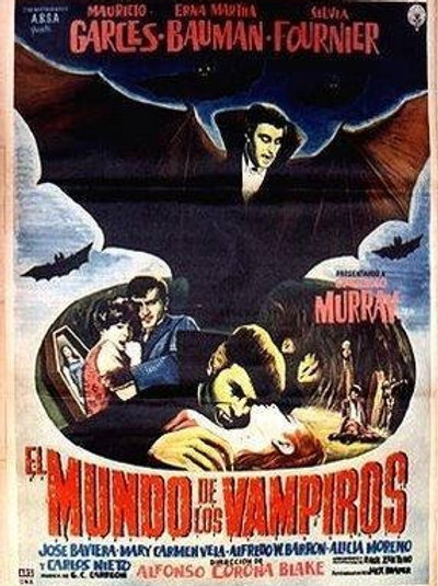 The World of The Vampires (El Mundo De Los Vampiros) 1961
