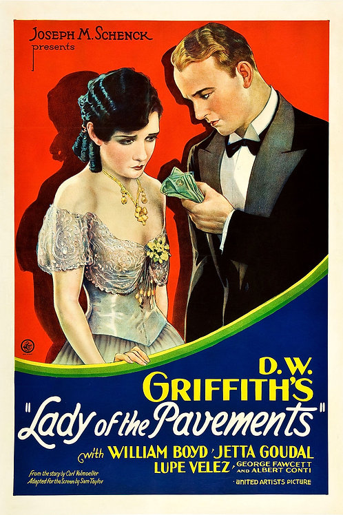 "D.W. Griffith's ""Lady of The Pavements"" (1929) Lupe Velez (Silent)"