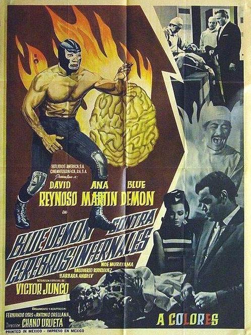 Blue Demon Vs. The Infernal Brains (Cerebros Infernales) (1968)