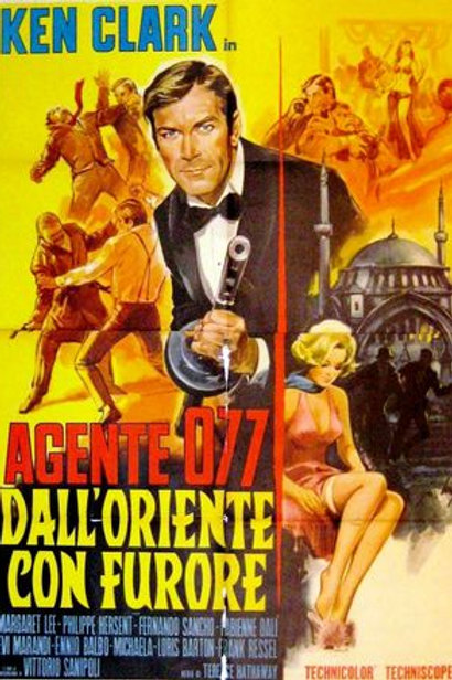 077 From The Orient With Fury (1965) Ken Clark EUROSPY