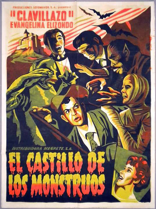 The Castle of Monsters (El Castillo De Los Monstruos) 1958