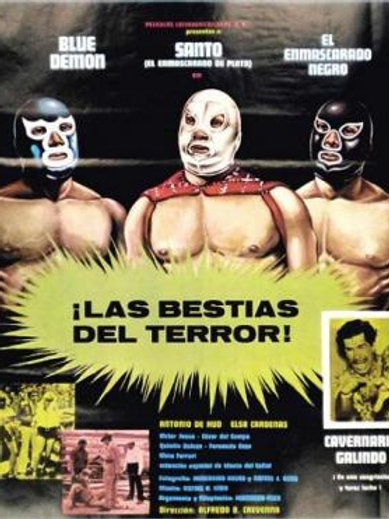 """Santo And Blue Demon"" The Beasts of Terror (1972) Lucha Libre"