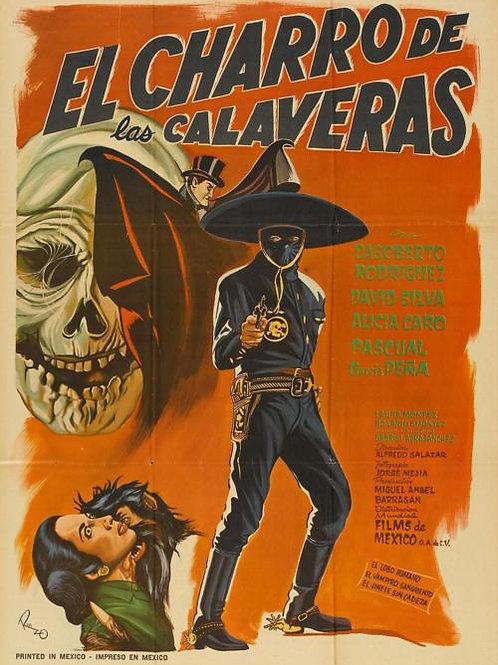 El Charro De Las Calaveras (The Rider of The Skulls) 1965
