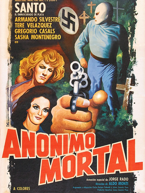 Santo In Anonymous Death Threat (1975)
