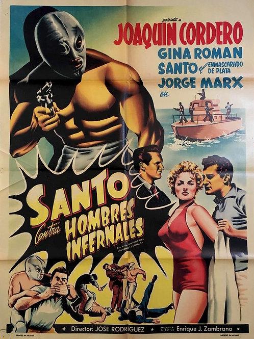 Santo Vs. The Infernal Men ( Hombres Infernales ) 1958