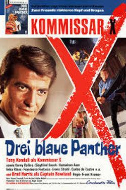 """Kommissar """"X"""" Kill Panther Kill 1968 Eurospy"""