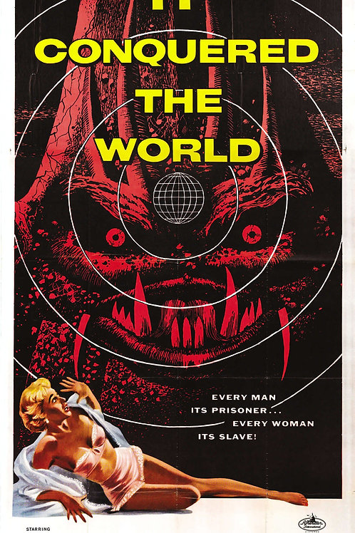 It Conquered The World (1956) Sci-Fi Roger Corman