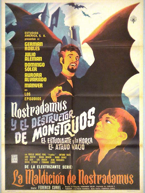 """The Monster's Demolisher (1962) German Robles"