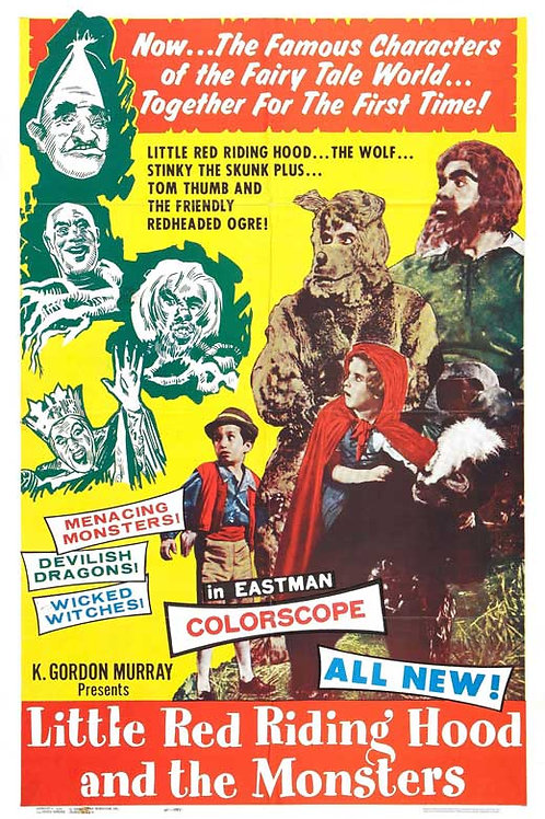 Little Red Riding Hood And The Monsters (1962) K.Gordon Murray