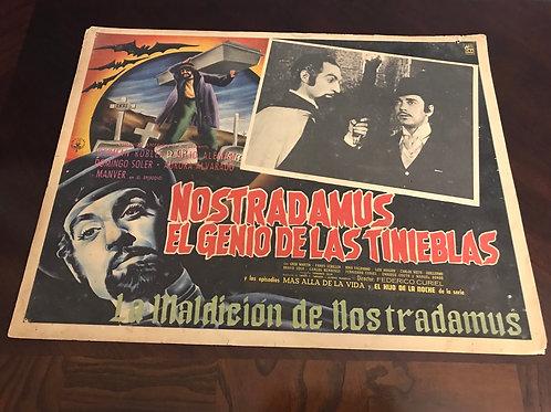 Nostradamus Genie of Darkness Lobby Card
