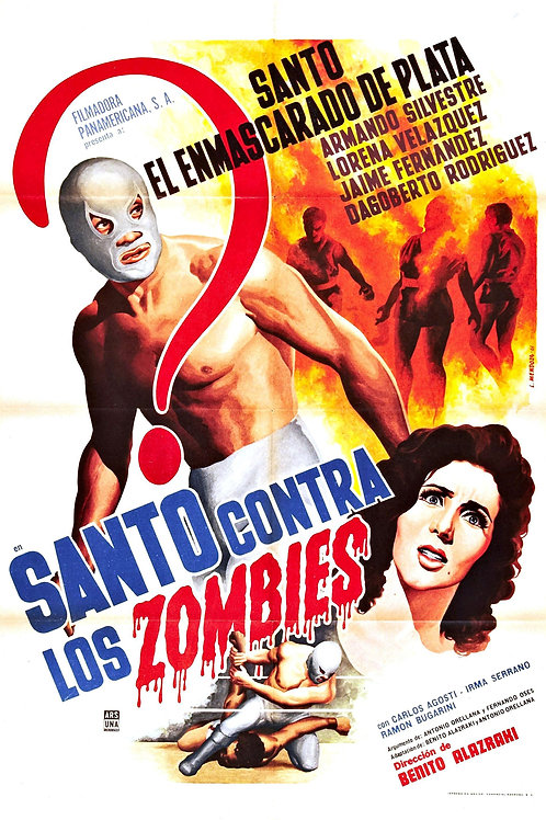 Santo Vs.The Invasion of The Zombies (Contra Los Zombies)