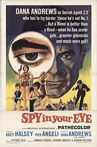 Spy In Your Eye (AKA Operation Laser) (1965) Brett Halsey EUROSPY
