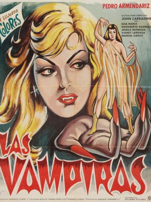 Las Vampiras (The Vampires) 1969 Mexican Horror