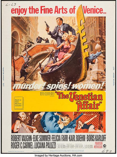 The Venetian Affair (1966) Robert Vaughn Boris Karloff