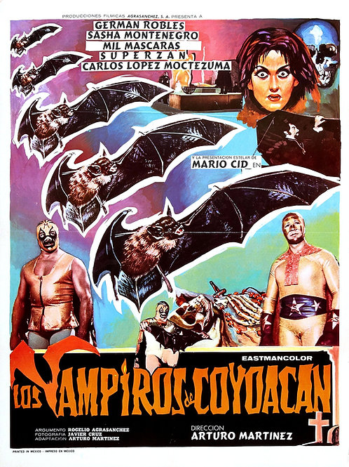 The Vampires of Coyoacan (1974) Lucha-Horror