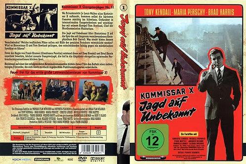 """Kommissar """"X"""" Kiss, Kiss, Kill, Kill, 1965 EUROSPY"""
